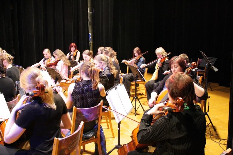 Orchestr je připraven